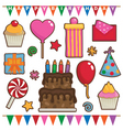 party objects vector image vector image