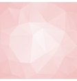 Pink abstract background polygon vector image vector image