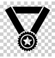 winner medal icon vector image