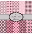 10 seamless patterns set vector image vector image