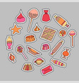candy patch set vector image