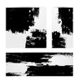 Grunge paper set vector image vector image