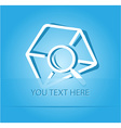 mail find vector image