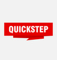 quickstep vector image vector image