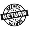 return round grunge black stamp vector image vector image