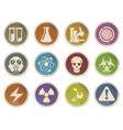 Science Symbols Icons vector image