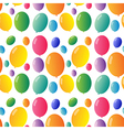 Seamless design with colorful balloons