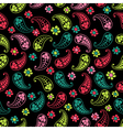 Seamless paisley texture for your design Endless vector image vector image