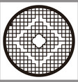 circle ornament vector image