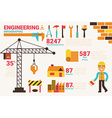 Engineering concept vector image vector image