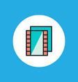 film reel icon sign symbol vector image