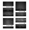 prospectus black group vector image