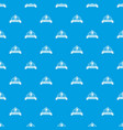 scales pattern seamless blue vector image vector image