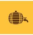 The Barrel icon Cask and keg beer Barrel symbol vector image vector image