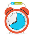 40 - Forty Minutes Stop Watch - Alarm Clock vector image