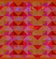 abstract geometric desigm background vector image vector image