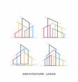 Architecture real estate building logo