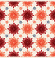 ceramic tile with multicolored abstract flowers vector image vector image