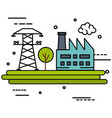 energy resources design vector image vector image