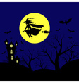 hallowen background vector image vector image