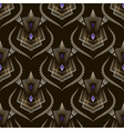 Seamless art deco modern pattern graphic ornament vector image vector image