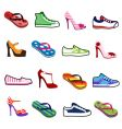 Shoes for man and woman vector image