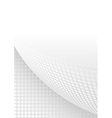 Abstract Background with Dotted Page Curl vector image vector image