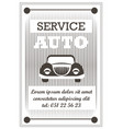 auto service car repairment tuning and vector image