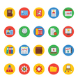 Business and Finance Icons 4 vector image vector image
