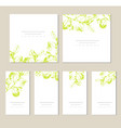business set of design templates layout mockup vector image vector image