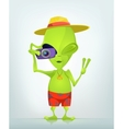 Cartoon character alien 035 cs5 vector | Price: 1 Credit (USD $1)