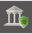 Law concept Justice icon Colorful icon editable vector image vector image