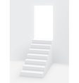 stairs door vector image vector image