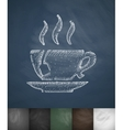 tea icon Hand drawn vector image