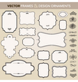 design ornaments set vector | Price: 1 Credit (USD $1)