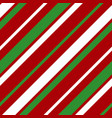 white green red strip line seamles pattern vector image vector image