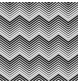 abstract seamless pattern black and white triangle vector image vector image