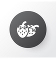 fruit icon symbol premium quality isolated vector image