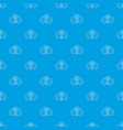 gas mask pattern seamless blue vector image vector image