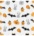 Halloween Wallpaper Pattern vector image vector image