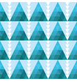 seamless geometric background with triangles vector image vector image
