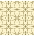 Seamless laurel wreath pattern Curled swirl vector image vector image