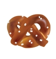 Soft Bavarian pretzels objects vector image vector image