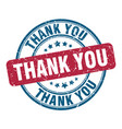 thank you stamp thank you round grunge sign thank vector image vector image