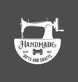 vintage tailor labels badges and design elements vector image