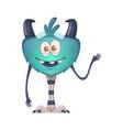 cartoon monster vector image