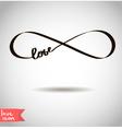 Eternal love icon vector image