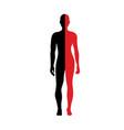 man-woman vector image vector image