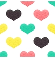 Saint Valentines day seamless pattern Background vector image vector image
