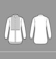 shirt tuxedo dress technical fashion